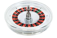 Каммей Crystal прозрачное колесо для американской рулетки, прозрачное, акриловое